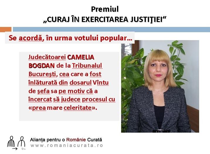 Ce spune Camelia Bogdan după decizia CSM de excludere din magistratură. Ce spun colegii ei magistraţi