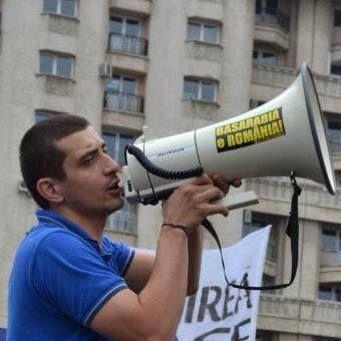 """George Simion explică incidentele de la Marșul pentru Basarabia: """"Nu am vrut să stăm închiși într-un țarc în fața Guvernului"""""""