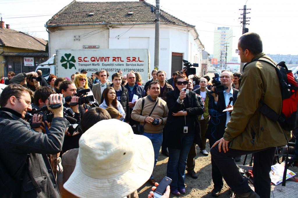Opoziția civică și… criza au scăpat Parcul Feroviarilor din Cluj de la dispariție. Dar pentru parc mai e încă de luptat