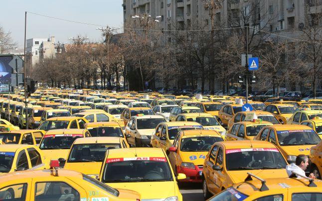 Nebunia bănoasă a taxiurilor