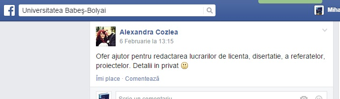 licente in privat