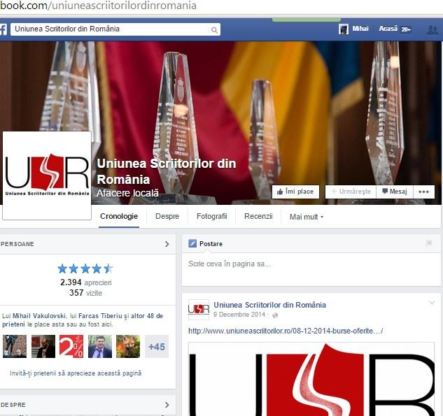 usr facebook