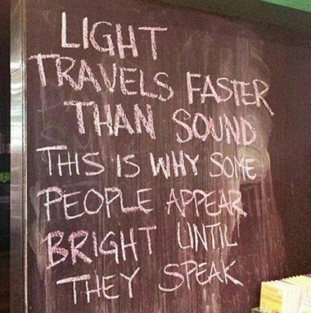 lumina mai rapida decat sunetul