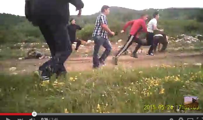 Activiști atacați la Râul Alb, Geoparcul Dinozaurilor, 24.04.2015