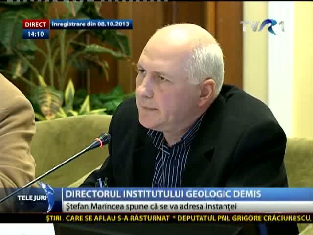 Omul care s-a opus proiectului Roșia Montană, sechestrat în propriul birou de la Institutul Geologic Român