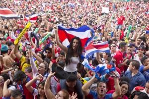 Costa Rica - bucuria calificării în sferturile CM de fotbal