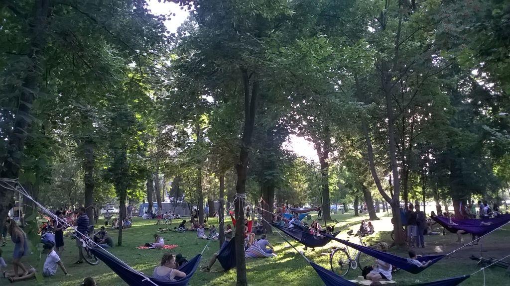 parcul central fara gard