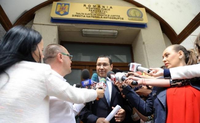 Victor Ponta, din nou la DNA. A dat declarații în dosarul în care este inculpat alături de Dan Șova, în dosarul Turceni-Rovinari