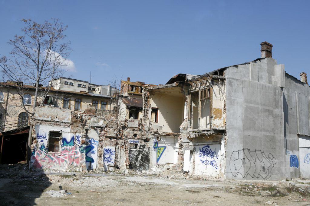 Case demolate pe strada Buzesti 1 generica