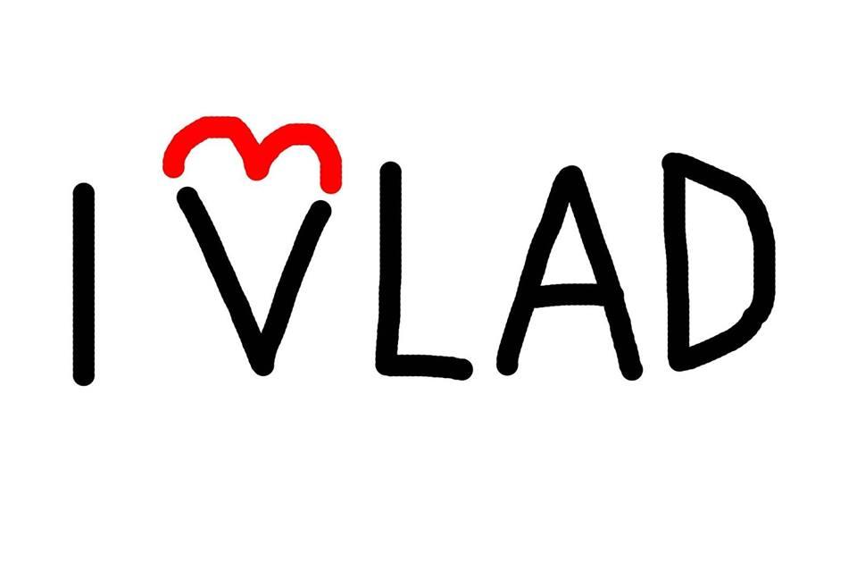 Desen de Dan Perjovschi pentru susținerea lui Vlad Alexandrescu