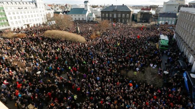 protest islanda 2