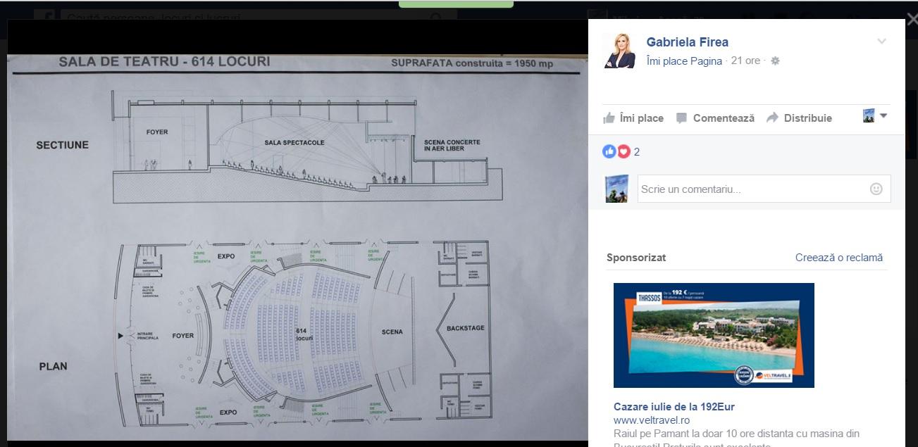 Schița de proiect cu care se promovează Gabriela Firea și unde nu este nicio mențiune a sursei utilizate
