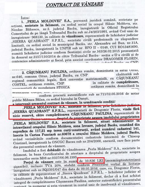 extras contract izvor Slanic