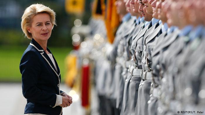 Ursula von der Leyen, ministrul Apărării din Germania