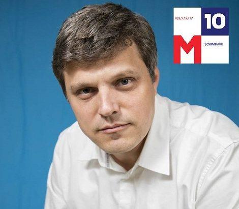 Mihai Gîrbă (USR), candidat poziția 1 Senat – Bacău (2016)