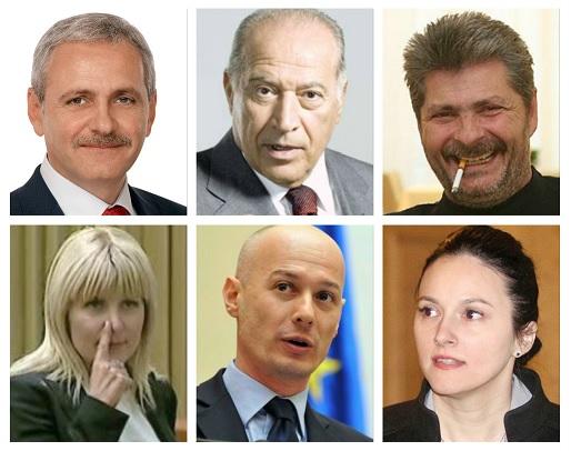 Dragnea, Voiculescu, Udrea, Bica & Co ar putea beneficia de ordonanţele Guvernului privind graţierea şi modificarea codurilor penale