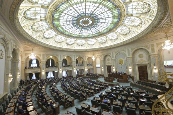 Ordonanța 14 a fost adoptată de către Senat