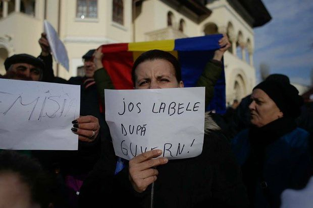 FOTO, VIDEO: Protestele continua la