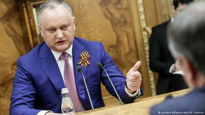 Președintele cărui stat este Igor Dodon?