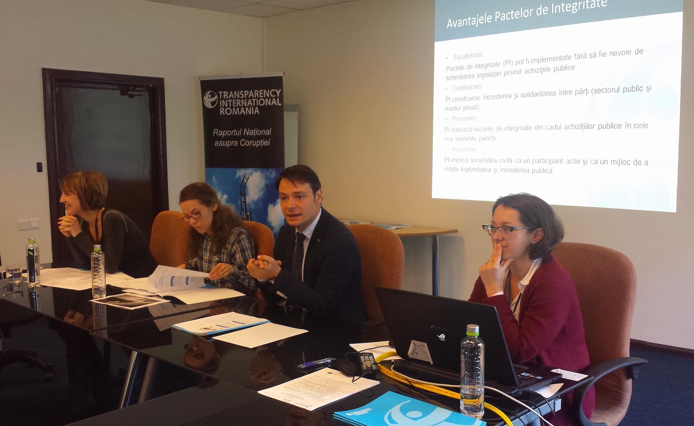 Societatea civilă contribuie la creșterea transparenței procedurilor de achiziții publice