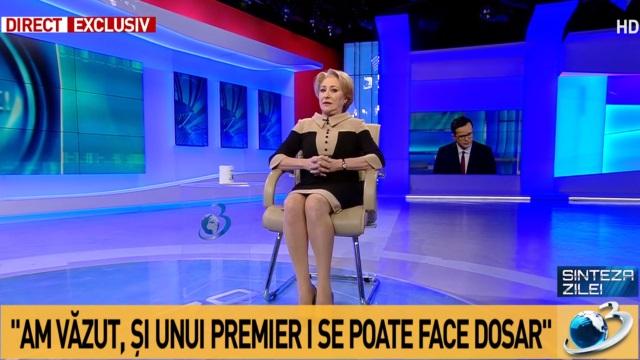 """Dăncilă și Gâdea anchetați de Combaterea Discriminării după ce premierul i-a numit """"autiști"""" pe Monica Macovei și alții"""