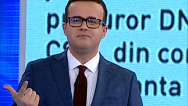 """Gâdea şi Antena 3, condamnaţi pentru minciună. L-au făcut """"acoperit"""" pe un diplomat"""