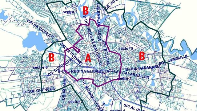 Care este zona din centrul Bucureștiului unde Firea vrea să taxeze accesul auto?