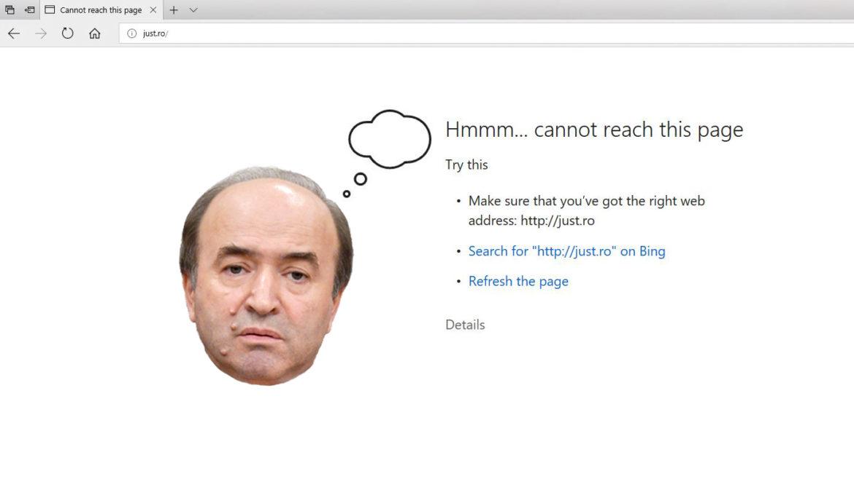 """Site-ul MJust """"a ajuns la limitele sale tehnologice"""""""