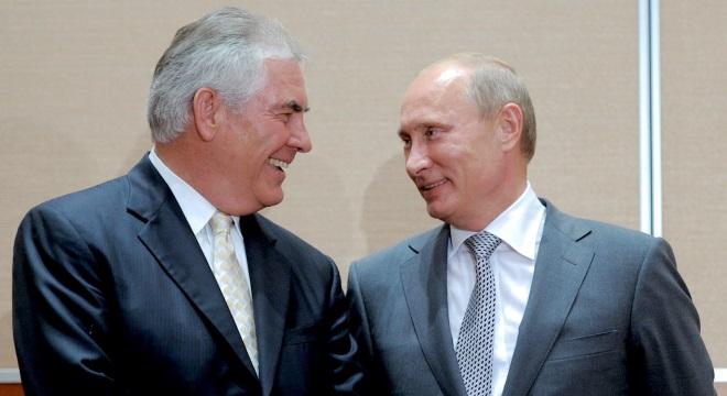 MAREA - Cine și cum servește propagandei ruse în jaful gazelor de la Marea Neagră Putin-tillerson