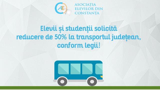 """Elevii și studenții din Constanța iau atitudine. """"Solicităm președintelui Consiliului Județean să nu își bată joc de elevi și studenți""""."""