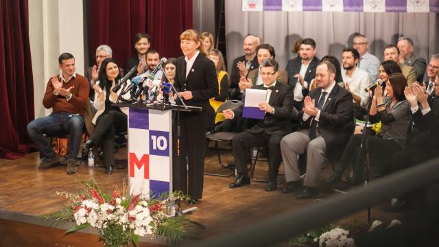 Unde USR ia felicitări că a pus-o pe Monica Macovei pe locul 1 la europarlamentare