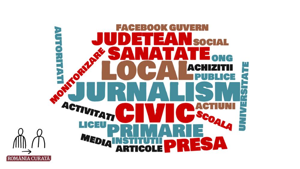 Vino la Școala de Jurnalism Civic ca să înveți cum să fii un watchdog în comunitatea ta!