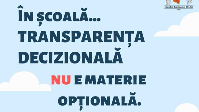 Analiză: sub 20% dintre liceele din județul Timiș își publică bugetul pe site