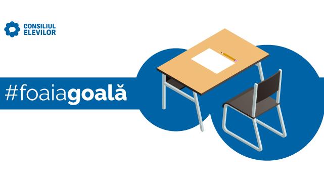 Consiliul Național al Elevilor: De ce dăm #foaiagoală