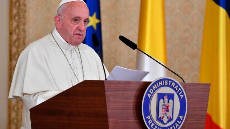 Mesajul emoționant al Papei Francisc la București