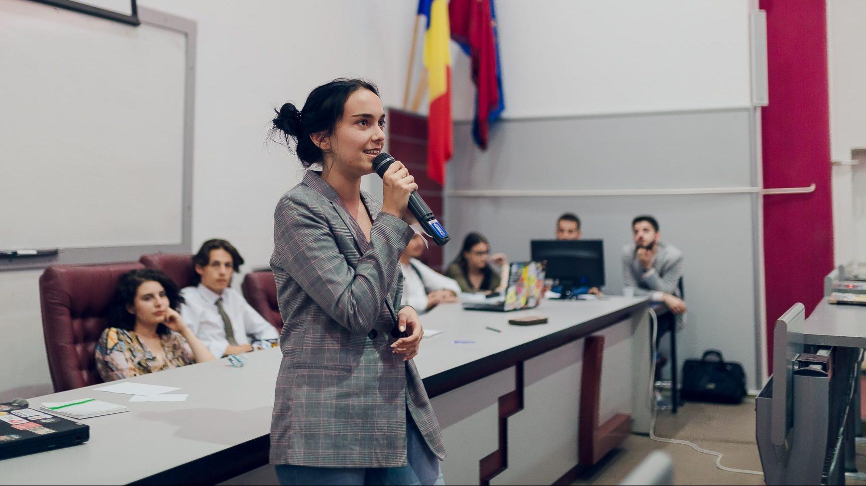 Antonia Pup este noul președinte al Consiliului Național al Elevilor