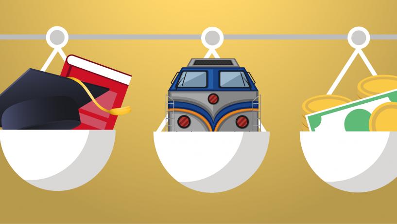 ANOSR solicită oprirea tuturor demersurilor prin care se limitează drepturile studenților privind transportul gratuit cu trenul și acordarea burselor