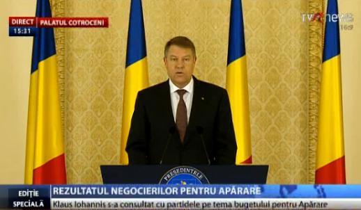 Iohannis insistă ca Parlamentul să rediscute Legea de eliminare a 102 taxe