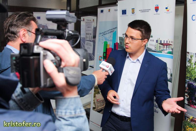 Cristian Ghingheș a strâns semnăturile și s-a înscris în cursa pentru Primăria Bacău și consiliul local