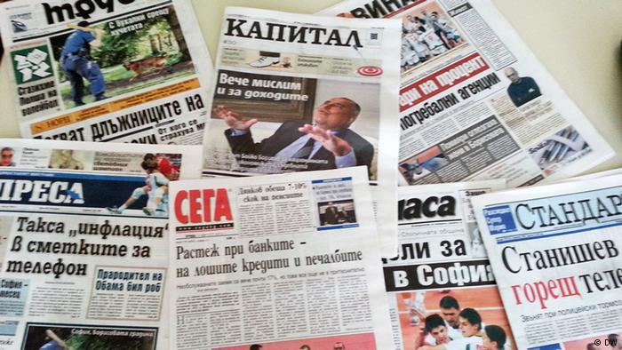 Umoriștii bulgari și libertatea presei