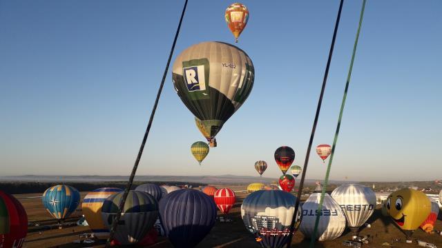 Viața privită din balon