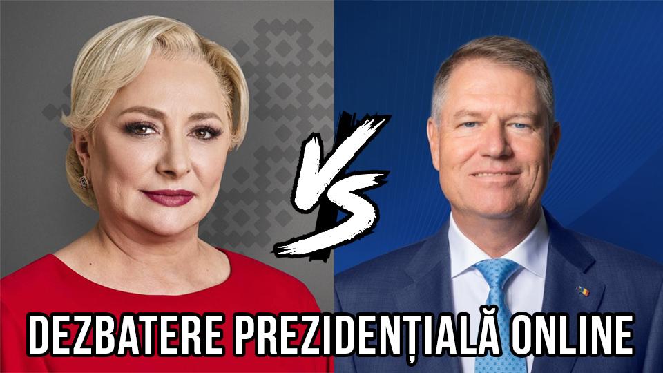 Dezbatere online între Klaus Iohannis și Viorica Dăncilă – răspunsurile la cele 10 întrebări