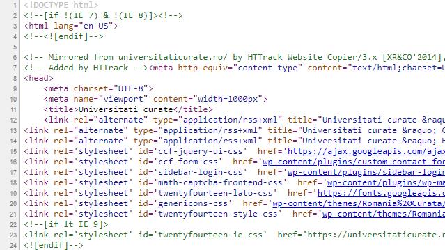 Culmea plagiatului: site-ul UniversitatiCurate.ro a fost plagiat ca să fie deturnat în scopuri private!