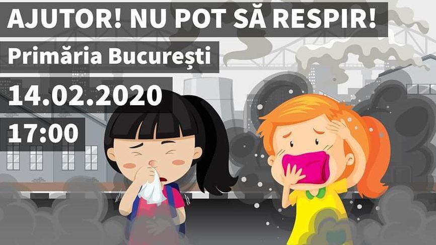 14 februarie – Marș împotriva poluării din Capitală