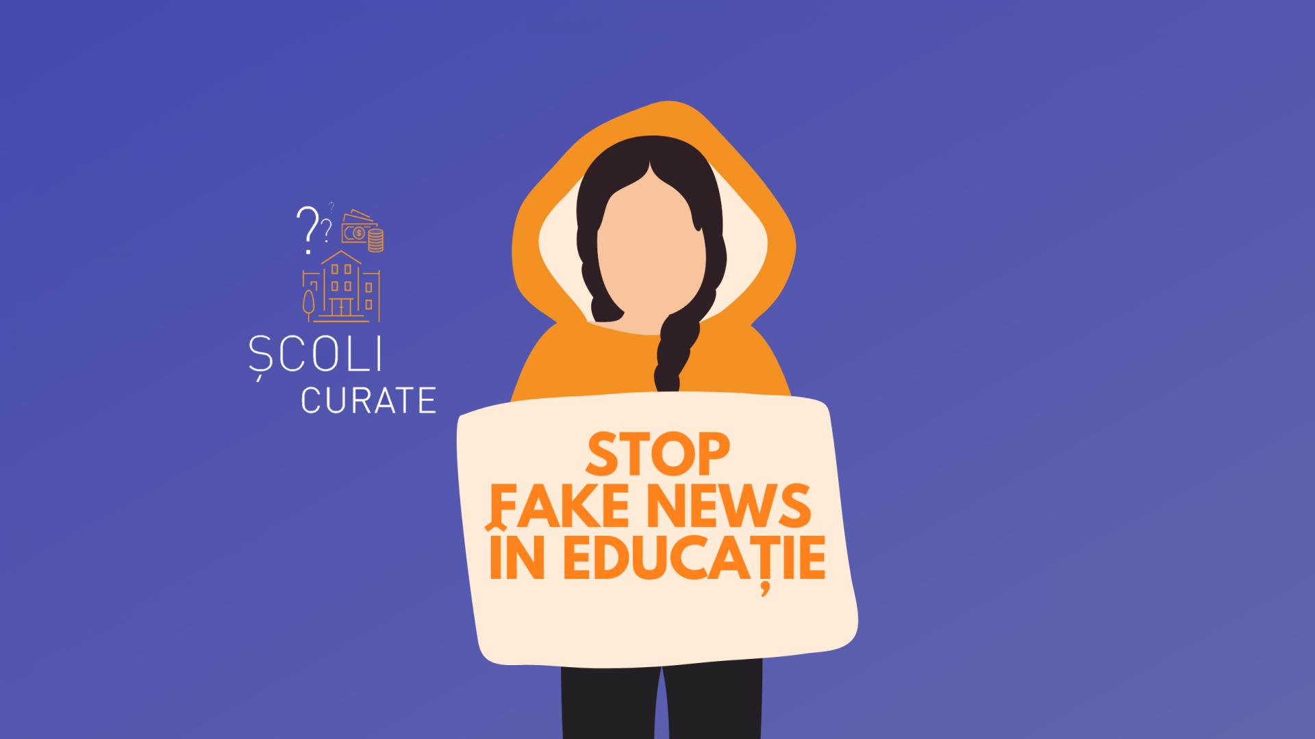Cum combatem fenomenul de fake news în rândul elevilor