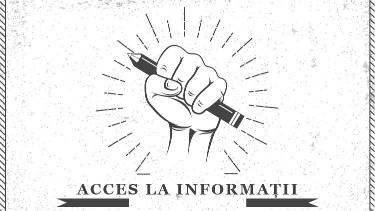 Peste 90 de redacții și 160 de jurnaliști cer acces la informații și transparență
