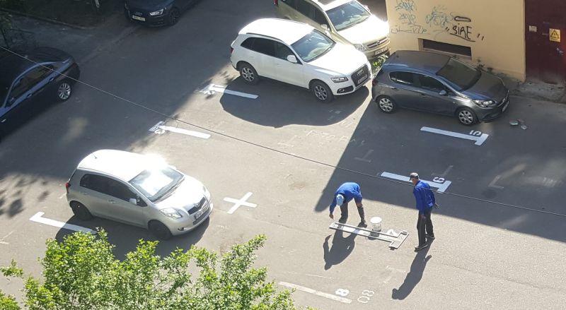 Dollo: București, această favelă a parcărilor și înmatriculărilor fără număr