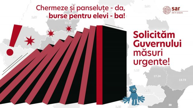 Semnal de alarmă: elevii din România – bătaia de joc a autorităților locale.  Solicităm Guvernului măsuri urgente.