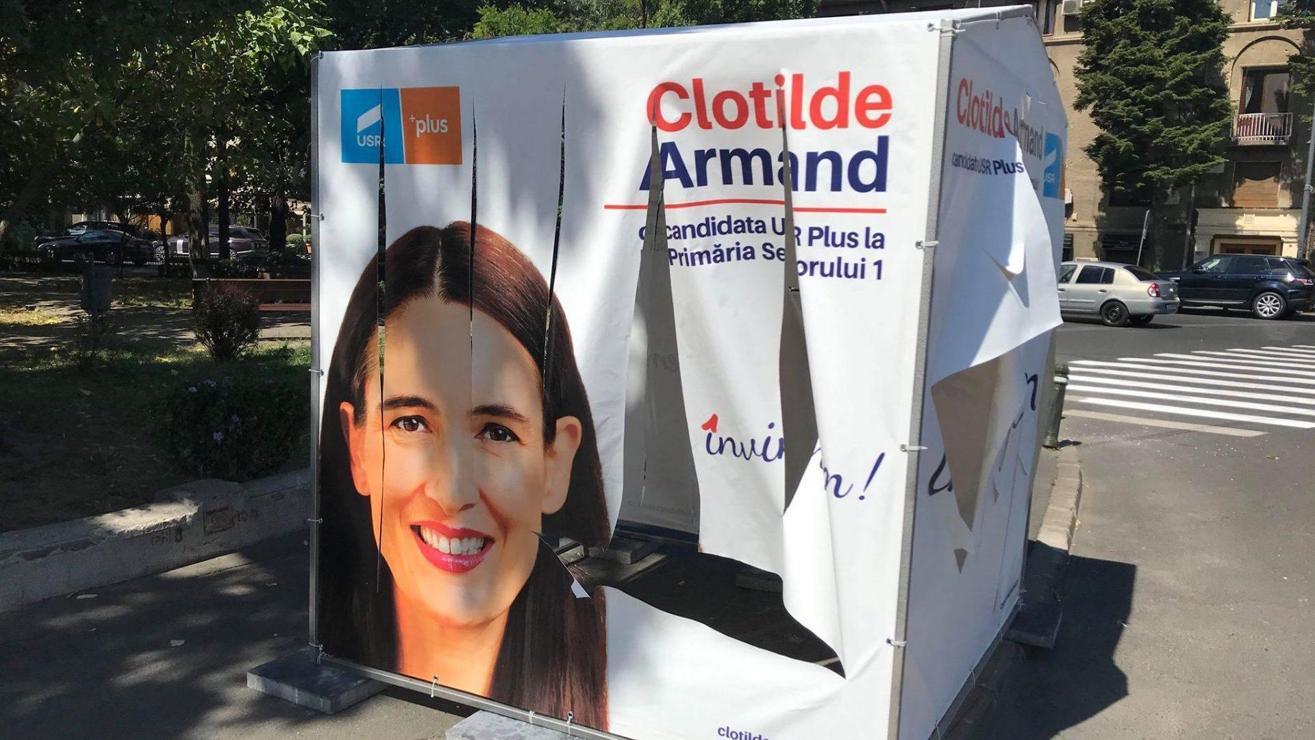 Merită votată Clotilde Armand în Sectorul 1?