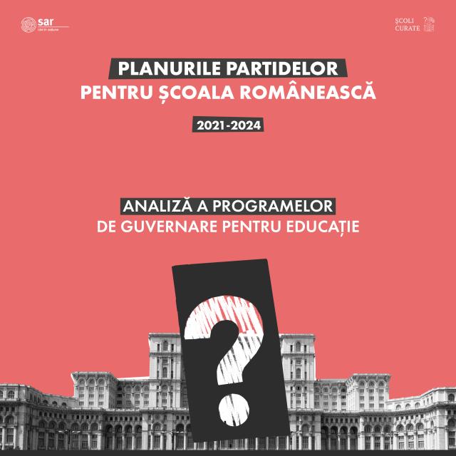 ANALIZĂ. Planurile partidelor pentru școala românească.